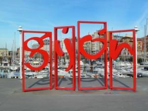 gijon letras ciudad citymarketing
